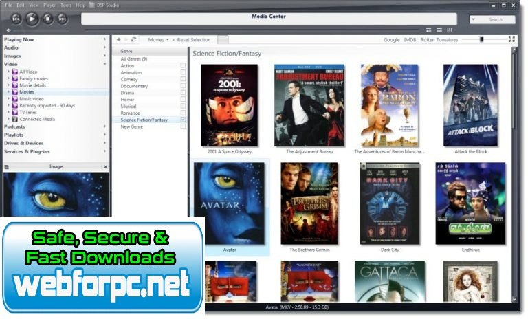 JRiver Media Center 2019 Free Download
