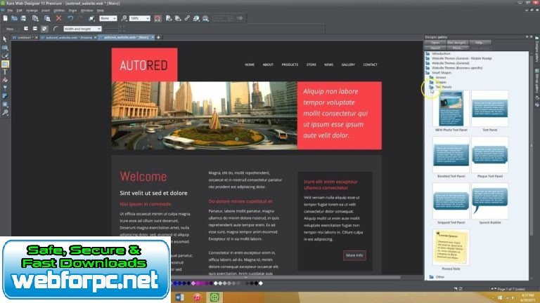 Xara Web Designer Premium 2019 Free Download