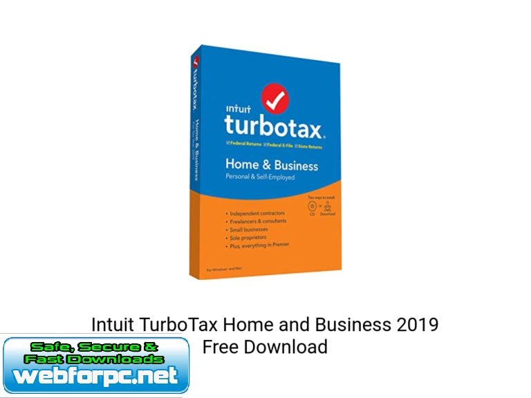 Intuit TurboTax Home and Business 2019
