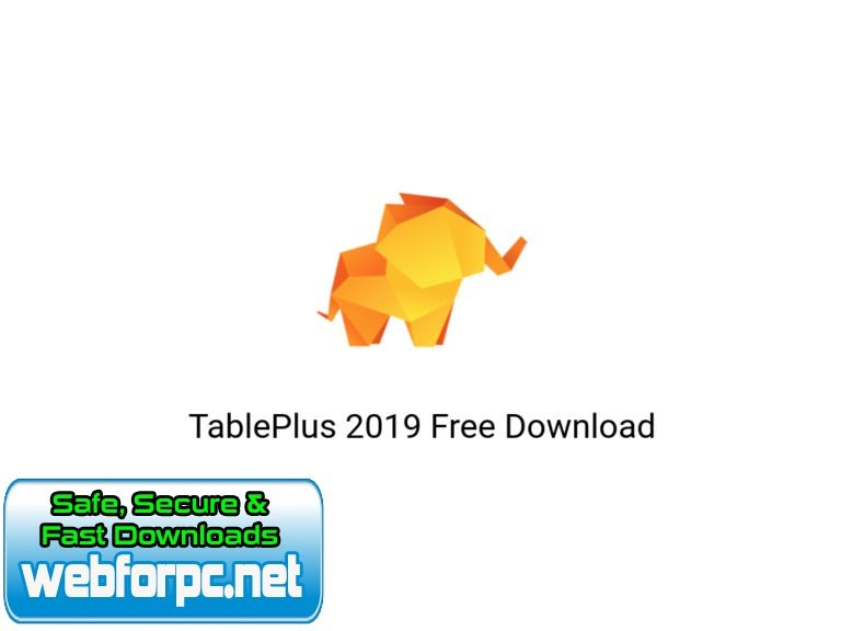 TablePlus 2019 For Mac