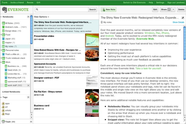 Evernote Free Download